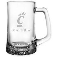 University of Cincinnati 15 oz. Glass Sport Mug