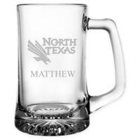 University of North Texas 15 oz. Glass Sport Mug