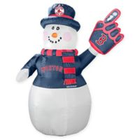 MLB Boston Red Sox Inflatable Snowman