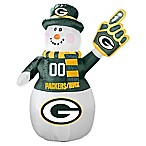 NFL Green Bay Packers Inflatable Snowman