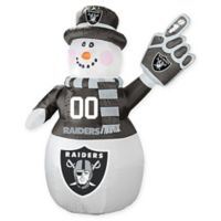 NFL Oakland Raiders Inflatable Snowman