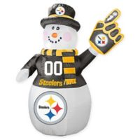 NFL Pittsburgh Steelers Inflatable Snowman