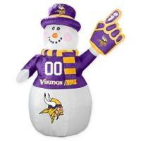 NFL Minnesota Vikings Inflatable Snowman