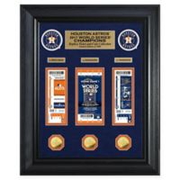 MLB Houston Astros 2017 World Series Champions Framed Ticket Collection