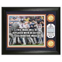 MLB Houston Astros 2017 World Series Champions Celebration Coin Framed Mint