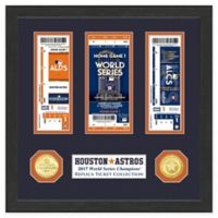 MLB Houston Astros 2017 World Series Champions Standard Framed Ticket Collection