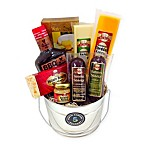 Fifth Avenue Gourmet Sausage, Cheese, and Crackers Bucket