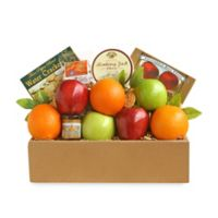 California Delicious Golden State Deluxe Fruit and Cheese Gift Box