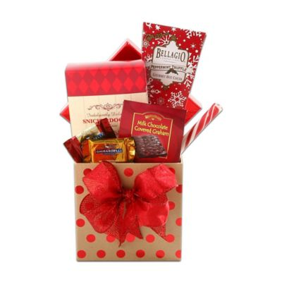 Buy chocolate gift boxes from bed bath beyond alder creek gift of holiday joy gift box negle Choice Image