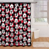 Disney® Mickey Mouse Big Face 72-Inch x 72-Inch Multicolor Shower Curtain