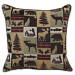 Fairbanks Square Throw Pillow