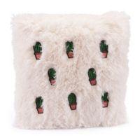 Zuo® Modern Cactus Throw Pillow in Beige/Pink