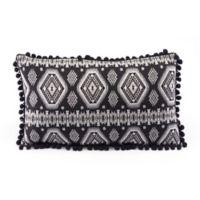 Zuo® Modern Tribal Throw Pillow in Black/White