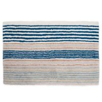 Creative Bath Ticking Stripe Rectangular Rug