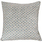 Nottingham Home Geo Diamond Square Throw Pillow in Sand