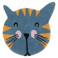 Creative Bath Kitty 30-Inch Square Rug