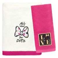 Minnie Mouse XOXO Hand Towel