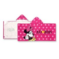 Minnie Mouse XOXO Hooded Towel