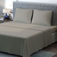Brielle 400-Thread-Count Sateen Full Sheet Set in Linen