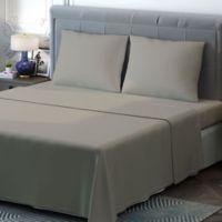 Brielle 400-Thread-Count Sateen Full Sheet Set in Linen