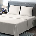 Brielle 400-Thread-Count Sateen King Sheet Set in Ivory