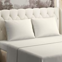 Brielle 300-Thread-Count Tencel Twin Sheet Set in Ivory