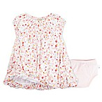 Burt's Bees Baby® Size 12M 2-Piece Organic Cotton Floral Bubble Dress