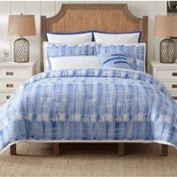 Vince Camuto® Nantucket King Comforter Set in Blue