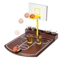 Home Essentials & Beyond Large Basketball Drinking Game