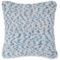 Nottingham Home Mod Ombre Loop Throw Pillow in Ivory/Blue