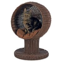 TRIXIE Rattan Cat Tree in Brown