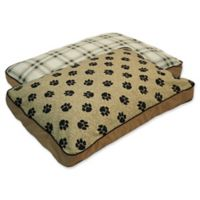 MyPillow® Cotton/Poly Medium Pet Bed in Tan
