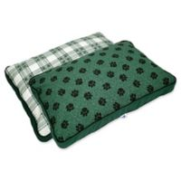 MyPillow® Cotton/Poly Medium Pet Bed in Green
