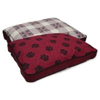 MyPillow® Cotton/Poly Small Pet Bed in Burgundy