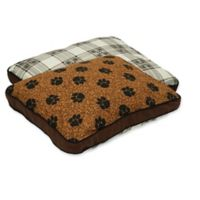 MyPillow® Cotton/Poly Small Pet Bed in Brown