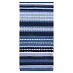 KitchenSmart® Colors Multi Stripe Kitchen Towel in French Blue/Navy