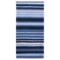 Kitchensmart Colors Multi Stripe Kitchen Towel In French Blue Navy