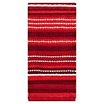 KitchenSmart® Colors Multi Stripe Kitchen Towel in Paprika