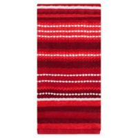 KitchenSmart® Colors Multi Stripe Kitchen Towel in Paprika