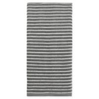 KitchenSmart® Colors Horizontal Stripe Kitchen Towel in Grey