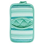 KitchenSmart® Colors Multi Stripe Pocket Pot Mitt in Surf/Atlantic