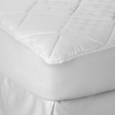 Theic 300 Thread Count Full Mattress Pad In White