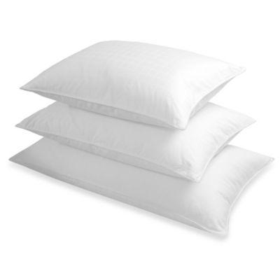 the seasons collection grand horizon king size white down backstomach sleeper pillow