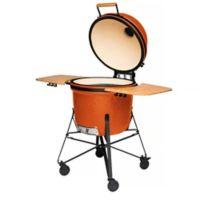 BergHOFF® 21-Inch Ceramic BBQ Grill in Bright Orange