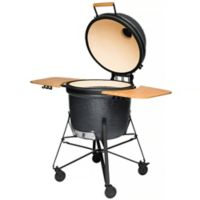 BergHOFF® 21-Inch Ceramic BBQ Grill in Bluestone Grey