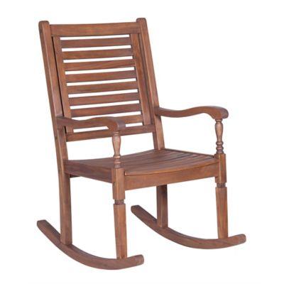 Forest Gate Eagleton Patio Acacia Wood Rocking Patio Chair