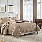 Croscill® Fulton Reversible Full/Queen Quilt in Taupe