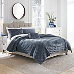 Croscill® Carissa Reversible King Quilt in Periwinkle