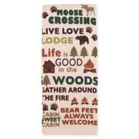 Avanti Cabin Words Kitchen Towel