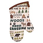 Avanti Cabin Words Oven Mitt